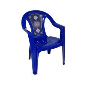 Кресло №8 с деколем Сапфир
