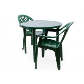 Комплект Престиж 2 кресла, стол круглый
