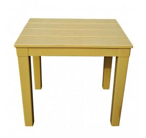 Столик для шезлонга Титан прямоугольный цвет бежевый