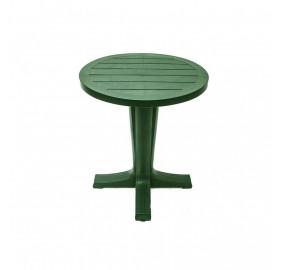 Стол круглый Прованс цвет темно-зеленый