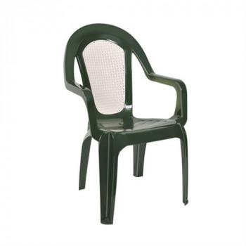 Кресло Стар дуэт цвет зеленый