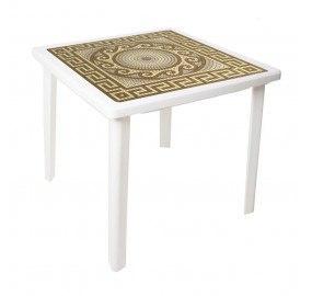 Стол квадратный Греческий орнамент