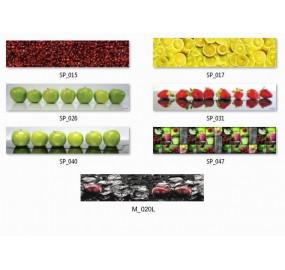 Пристеночная панель (фартук)Фрукты и овощи