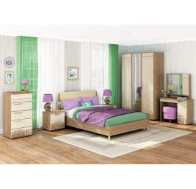 Композиция №1 спальня Бриз