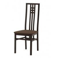 Манзано Стул с мягким сиденьем (венге)