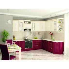 Виктория 20 Кухонный гарнитур угловой 18 (ширина 280x230 см)
