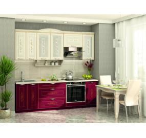 Виктория 20 Кухонный гарнитур 19 (ширина 240 см)