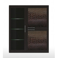 ГТ.073.304 Парма-Люкс Полка 3-х дверная (1 стеклодверь)