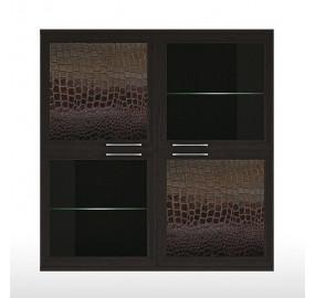 ГТ.073.301 Парма-Люкс Полка 4-х дверная (2 стеклодвери)
