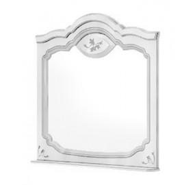 СП-022-19 Орхидея Зеркало (белый полуглянец)