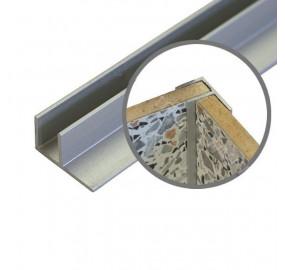 Планка угловая для пристеночной панели F-образн.
