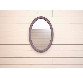 Зеркало Leontina lavanda овальное