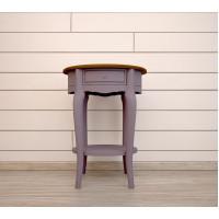 Овальный столик Leontina lavanda