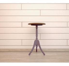 Круглый кофейный стол Leontina lavanda