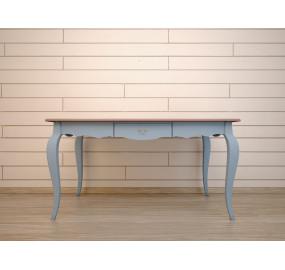 Большой голубой стол