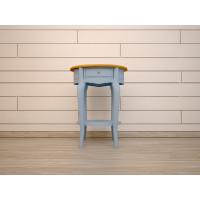 Овальный столик Leontina голубой