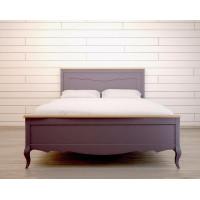 Двуспальная кровать Leontina lavanda на 180