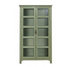 Шкаф со стеклянными дверками Olivia