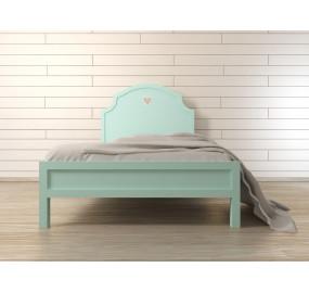 Кровать Adelina в мятном цвете