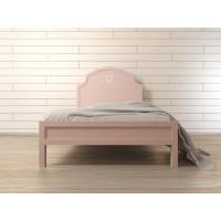 Кровать Adelina в розовом цвете