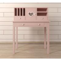 Туалетный столик Adelina в розовом цвете