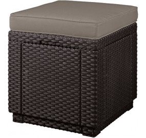 Пуф пластиковый Cube with cushion