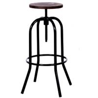 Барный стул Tolix Spider Wood