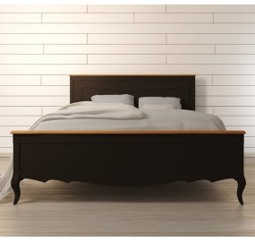 Дизайнерская кровать Leontina Black 180*200