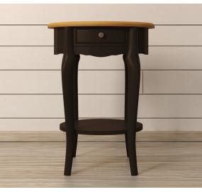 Овальный кофейный стол Leontina Black