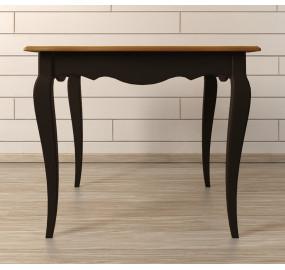 Квадратный обеденный стол Leontina Black