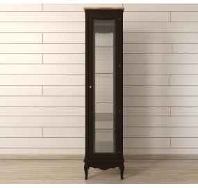 Шкаф Leontina Black для посуды высокий