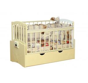 Детская автоматическая кровать Укачай-ка 03 Ваниль