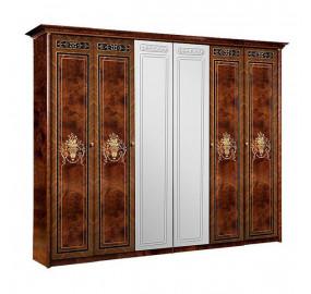 Карина-3 Шкаф 6-ти дверный