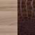 Ясень шимо темный + кожа caiman темный +1090.0000