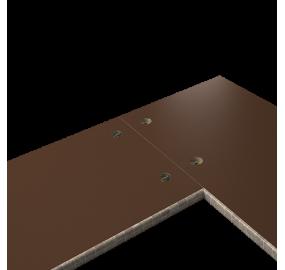 Сверление отверстий в столешнице под стяжки