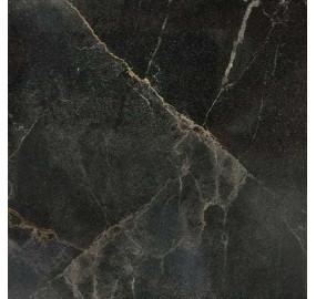 Стеновая панель для кухни КЕДР (3-я категория) - Цвет: Мрамор марквина черный ГЛЯНЕЦ 3029/1