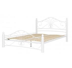 Кровать Фортуна 1 белый (выставочный экземпляр)