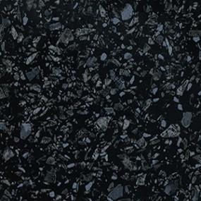 Столешница Троя Стандарт 4060/Е Черное Серебро