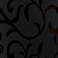 Столешница Троя Стандарт 0010 Flower Цветы черные