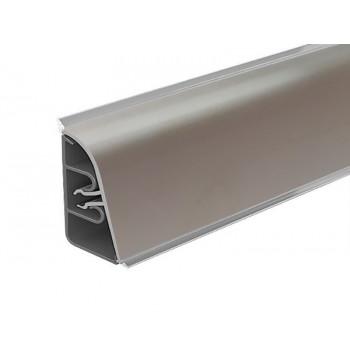 Плинтус алюминиевый РИО, цвет серебро