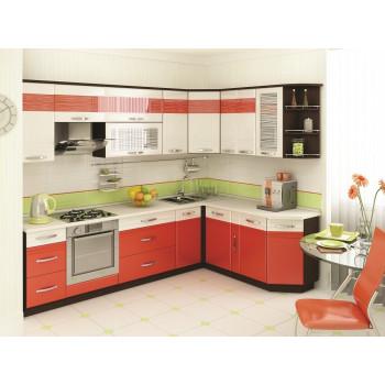 Оранж 9 Кухонный гарнитур угловой 18 (ширина 280x190 см)