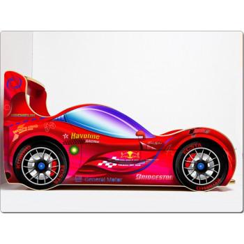 Кровать машина СпортКар (красный)