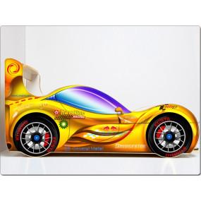 Кровать машина СпортКар (желтый)