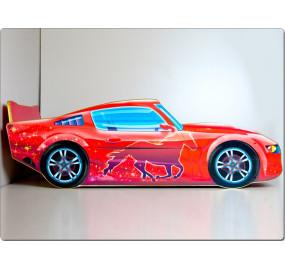 Кровать машина Мустанг (красный)