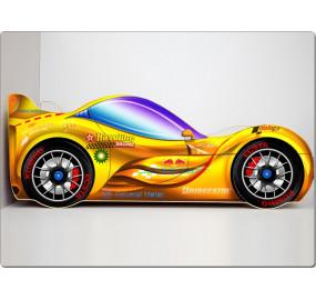 Кровать машина СпортКар 2 (желтый)