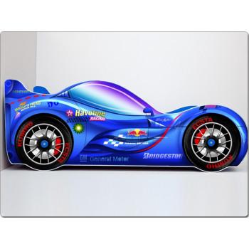 Кровать машина СпортКар 2 (синий)