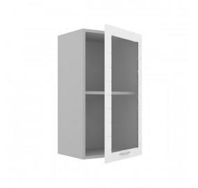 ЛД 707.856 Шкаф 400 стекло с распашной дверью Анастасия тип 3