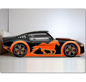Кровать машина Мустанг (черный)