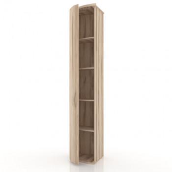 ЛД 124.170 Марта Шкаф  окончание ЛЕВЫЙ с гнутой дверью