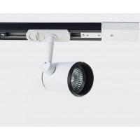Трековый светильник Megalight 8129 white/ black
